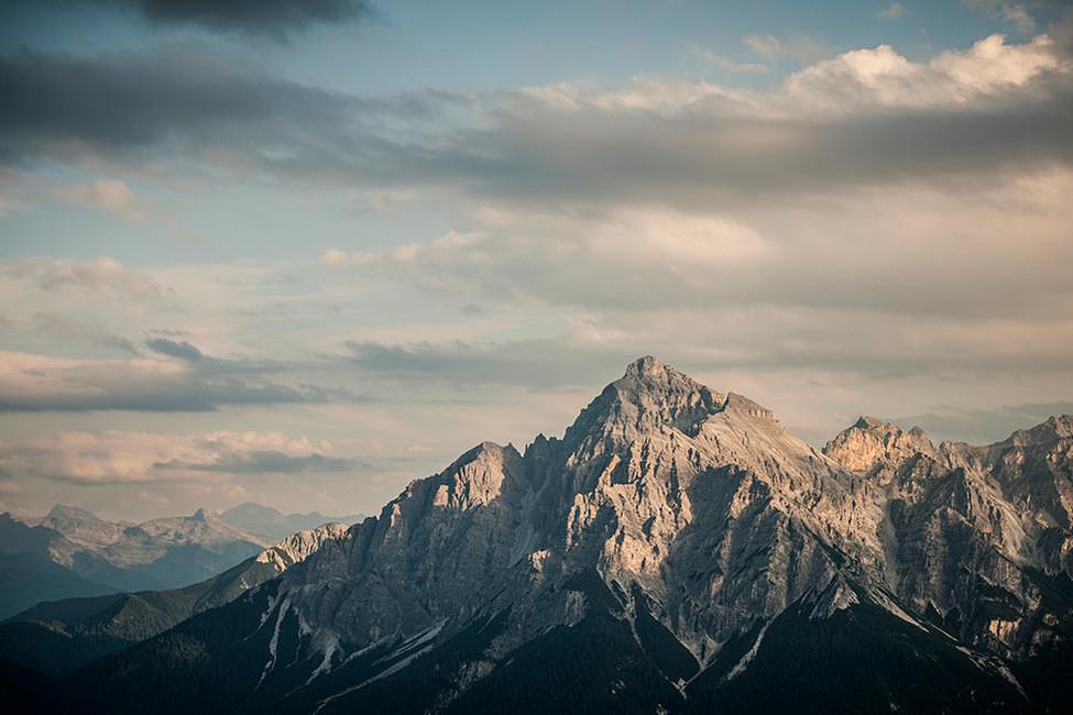 Gipfel der seven Summits