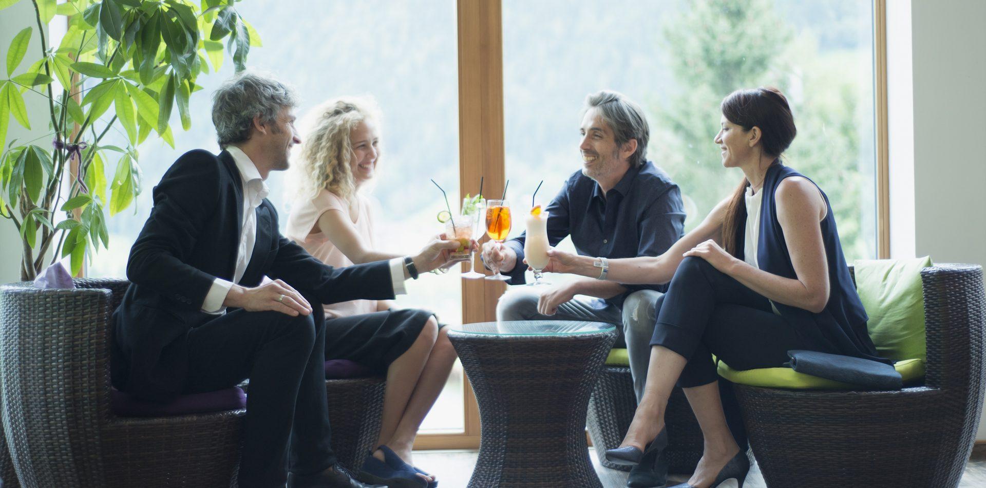 Wintergarten im LifeStyle Hotel Neustift