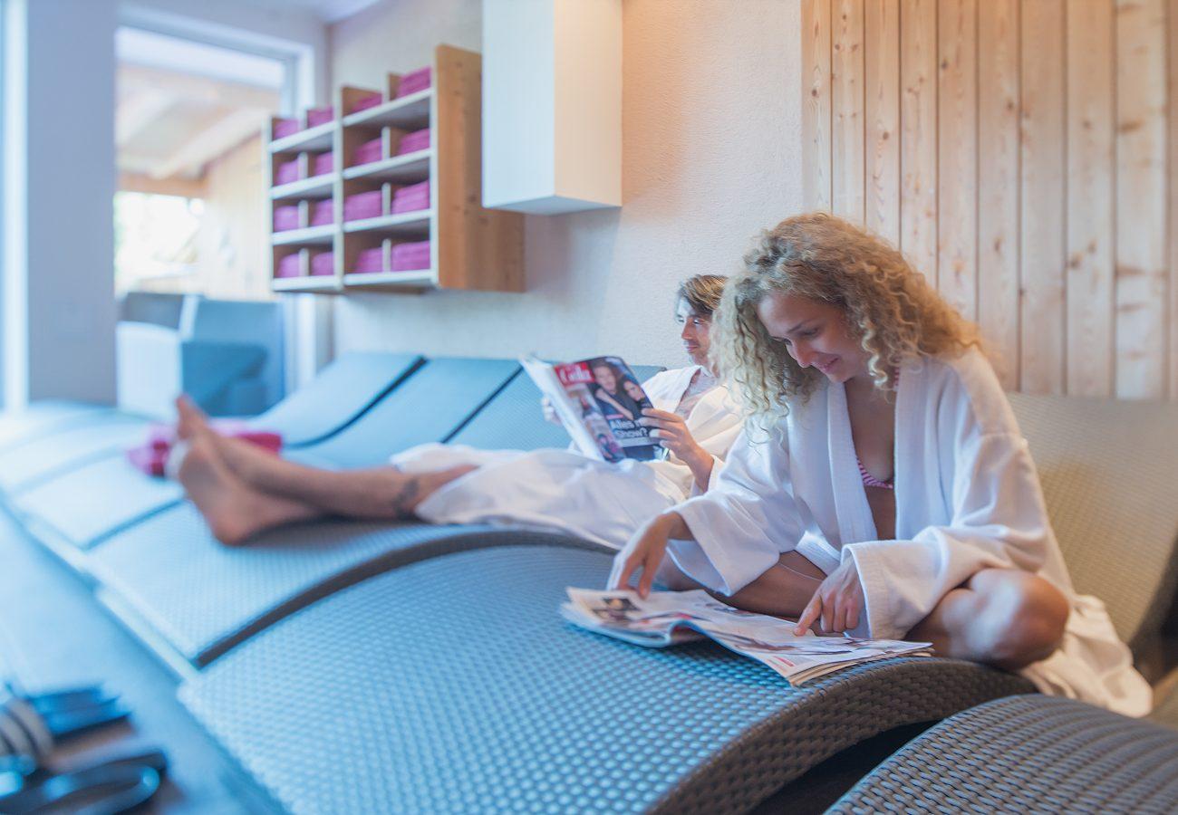 Entspannung im ERIKA, dem LifeStyle Hotel Neustift