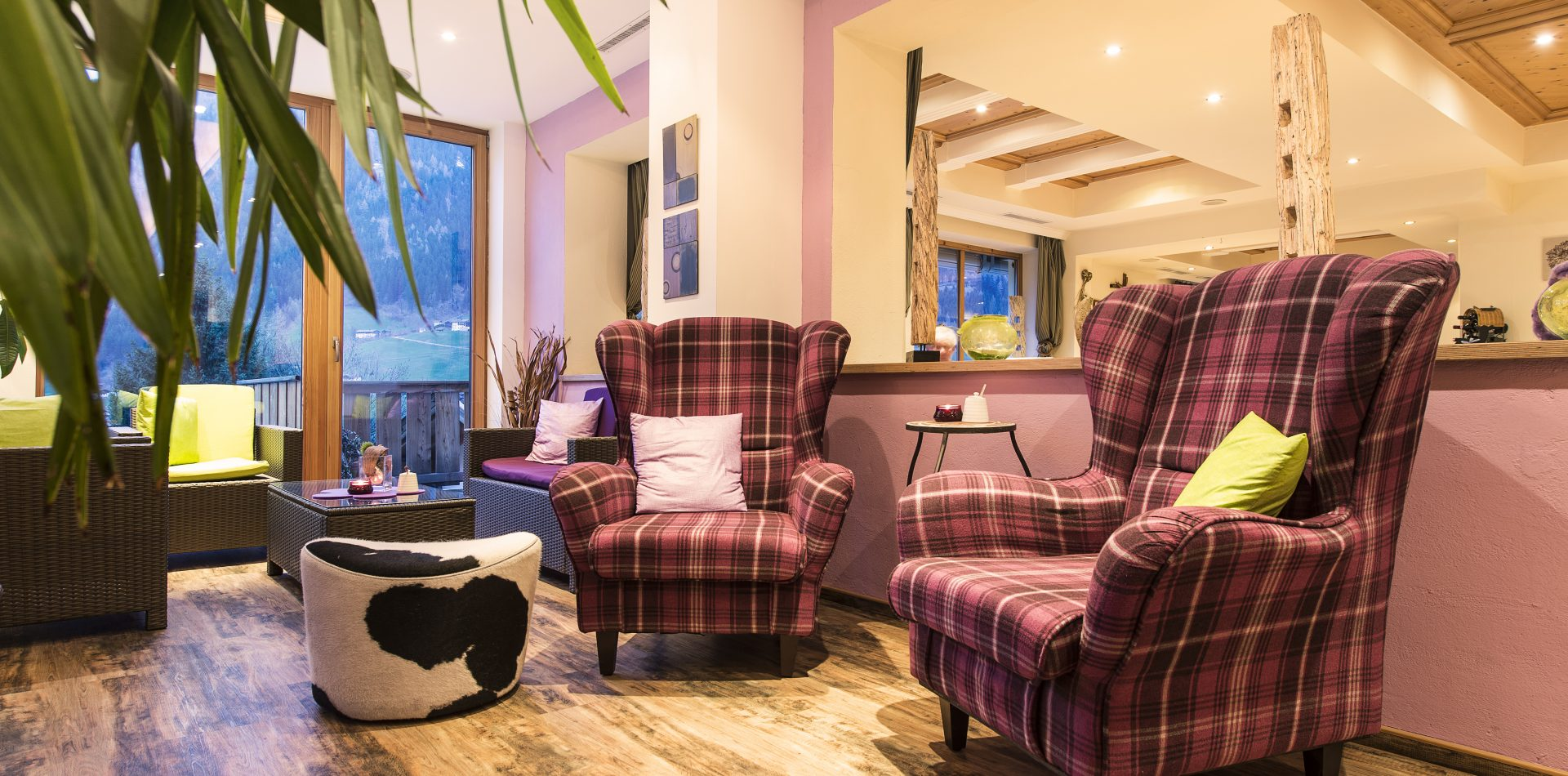 Loungebereich Hotel Erika Stubaital