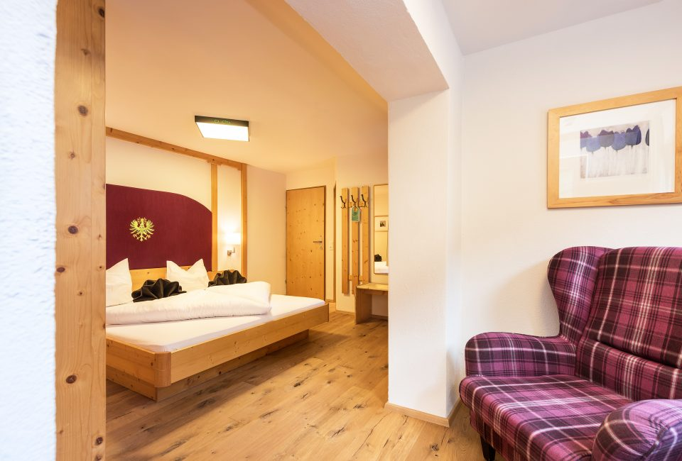 Zimmer mit Talblick Hotel Erika Stubaital