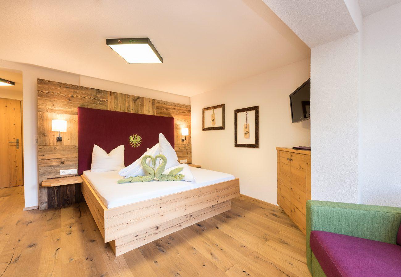 Doppelzimmer im LifeStyle Hotel Neustift