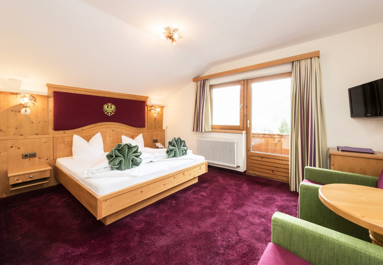 Tiroler Zimmer im Stubaital