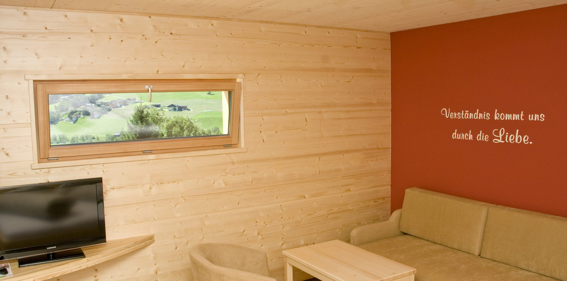 Naturzimmer im Hotel Erika Neustift
