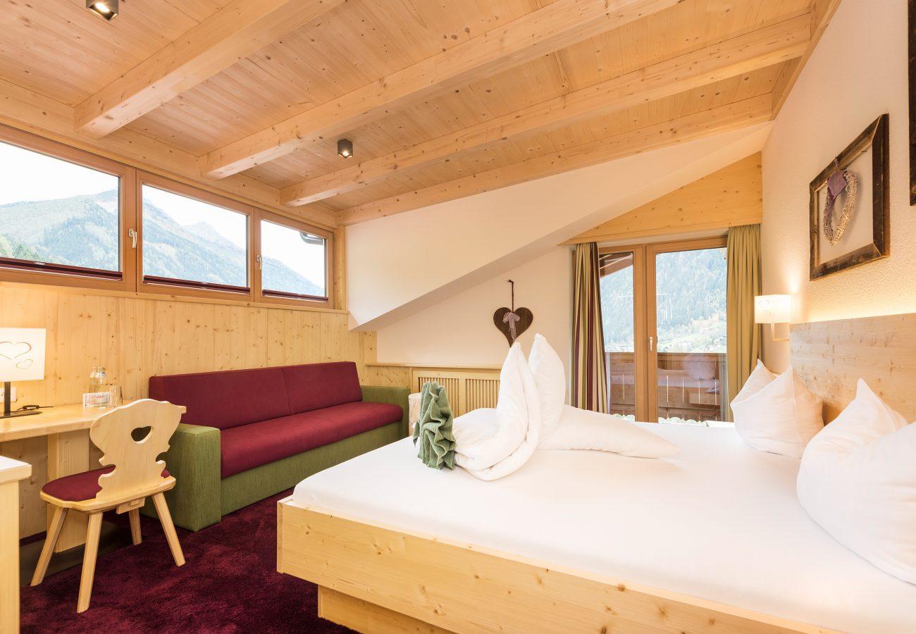 Doppelzimmer in der Natur-Kuschelkammer Juchee