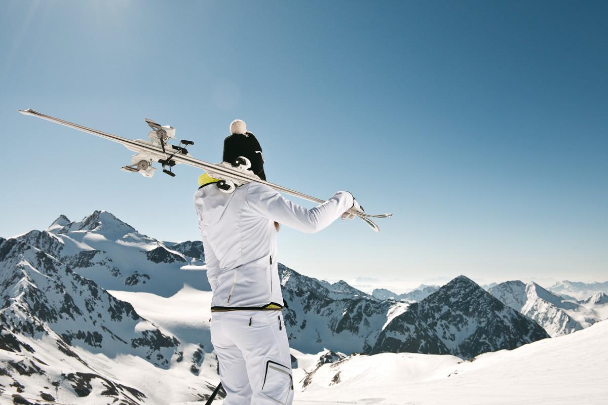 Skifahren am Gletscher beim Ski Hotel Neustift im Stubaital