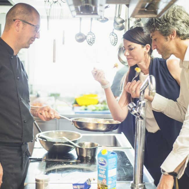 Rezept-Tipp für den Jänner: Apfel-Grießkuchen