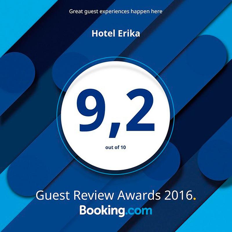 Booking Award für Hotel Erika im Stubaital