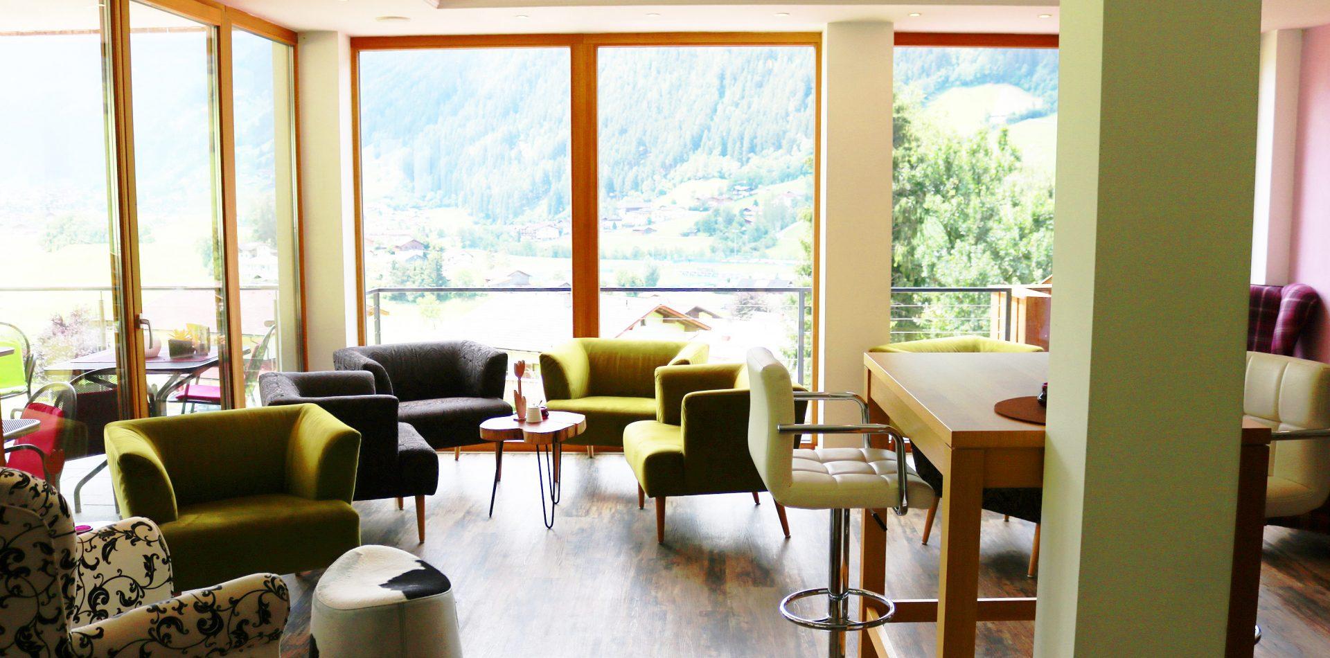Lounge Hotel Erika Stubaital