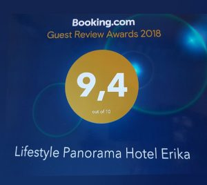 Recommended on booking.com